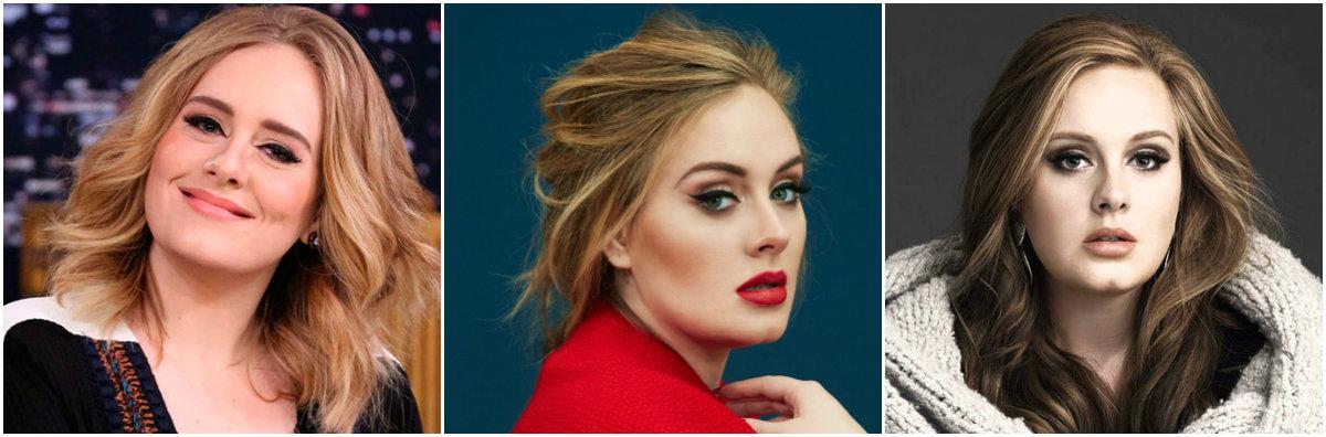 Cirugías de Adele fotos antes y despué