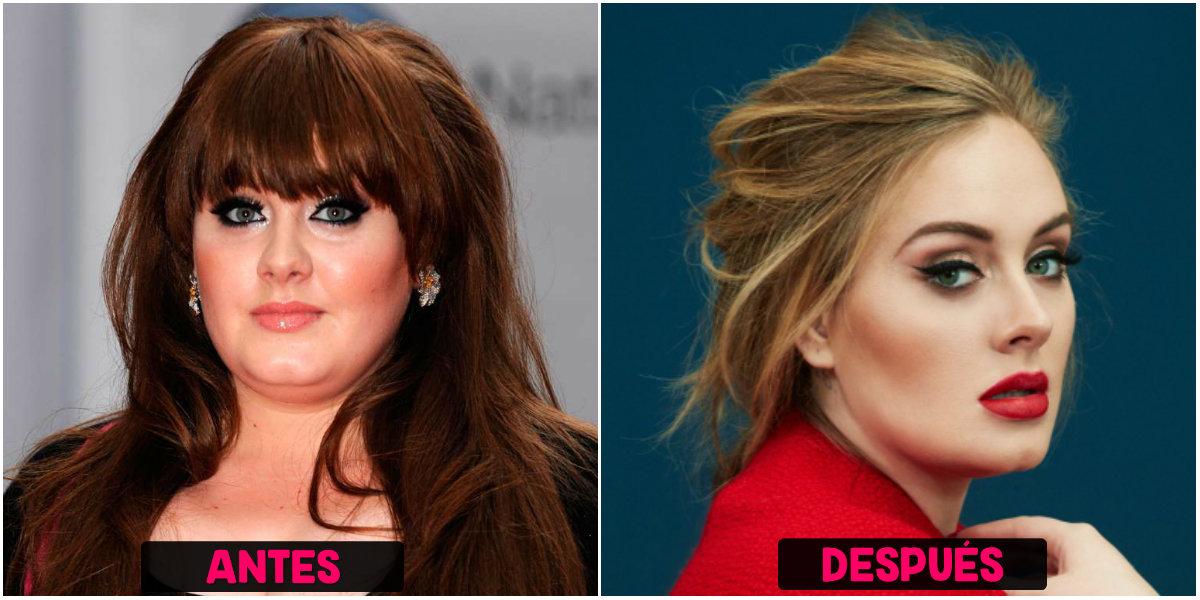 Pérdida de peso de Adele