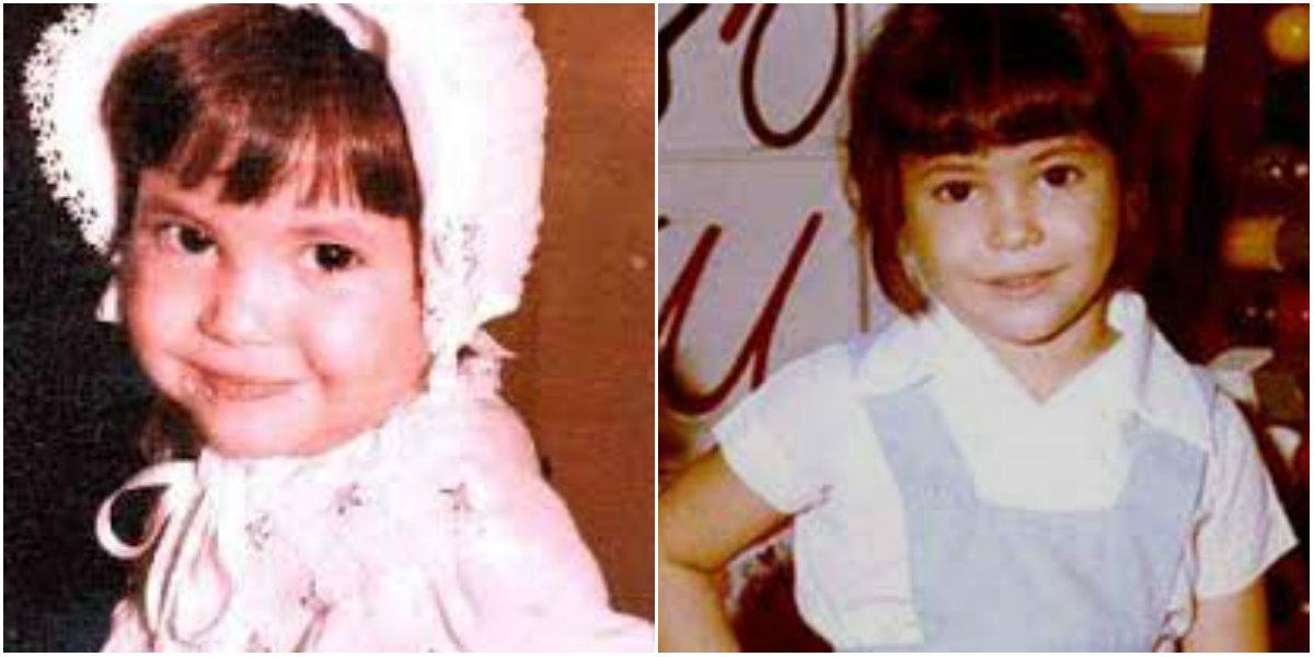 Shakira de niña