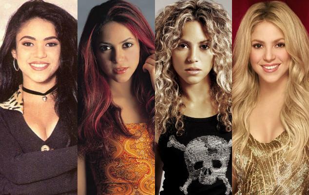 Antes y después de Shakira