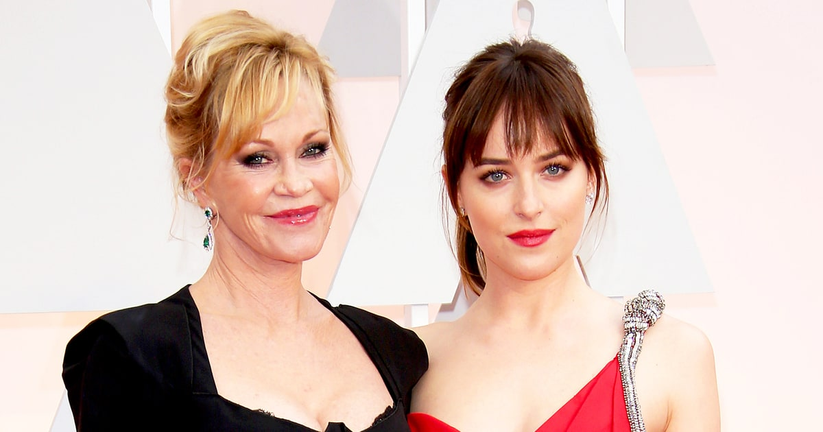 Melanie Griffith y Dakota Johnson