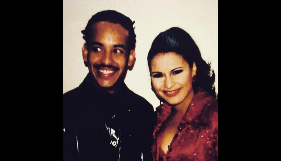 Foto de Daddy Yankee con Olga Tañón
