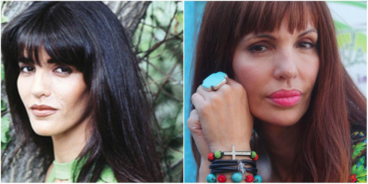 Mónica Aguirre antes y después