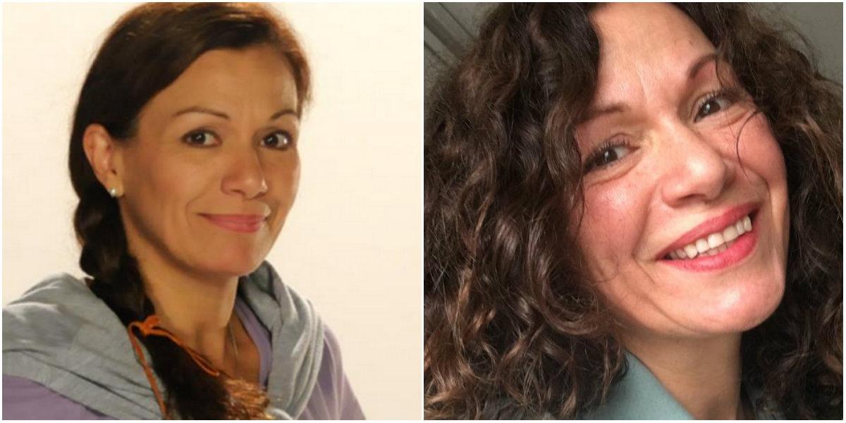 Solange Lackington antes y después