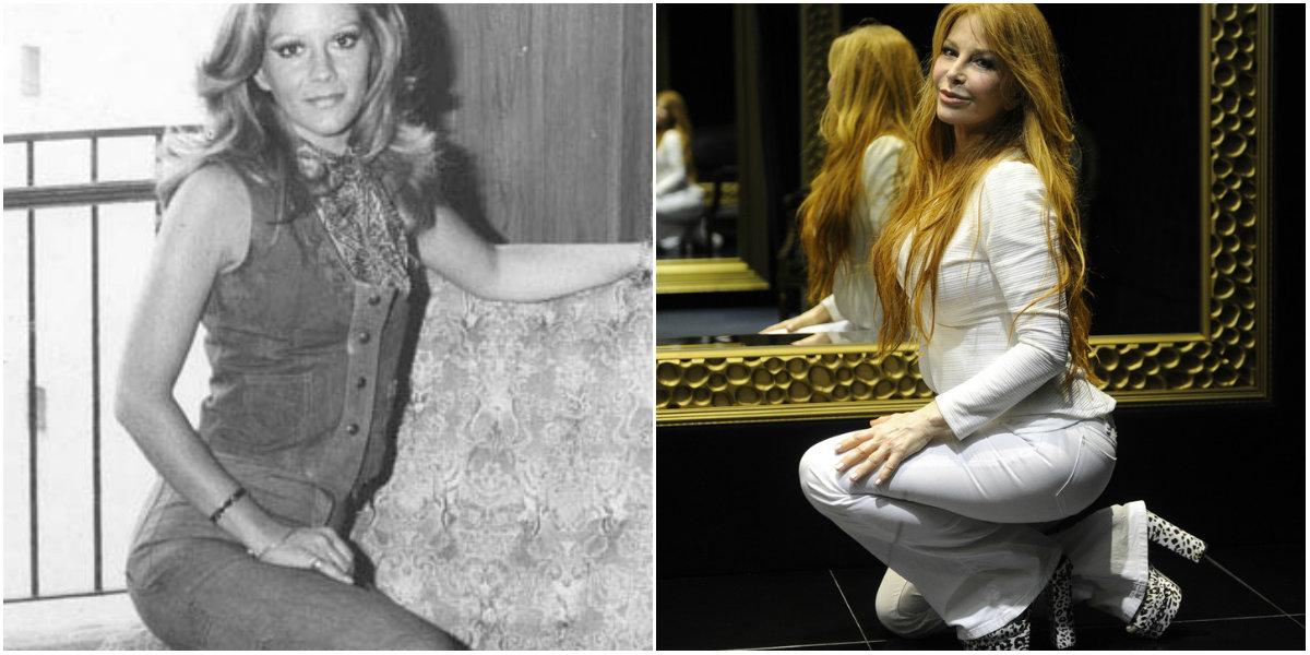 Antes y después de Graciela Alfano