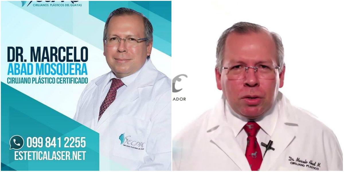Dr. Marcelo Abad Mosquera Cirujano Plástico en Ecuador
