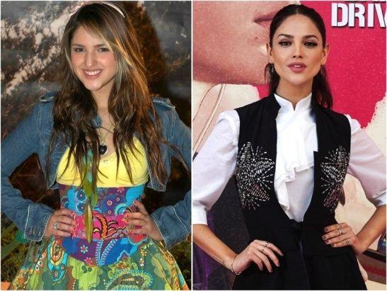 Antes y después de Eiza González