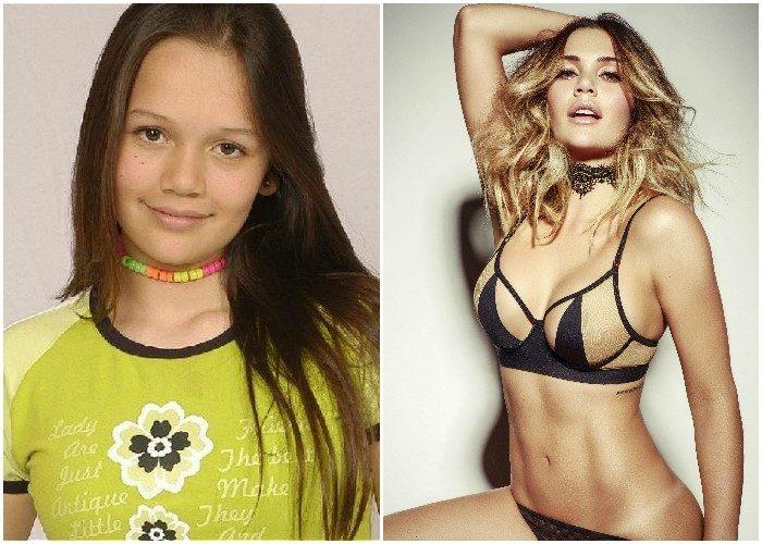 Lina Tejeiro antes y después