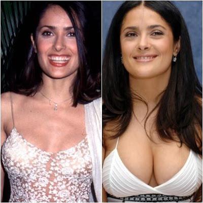 Antes y después de salma hayek
