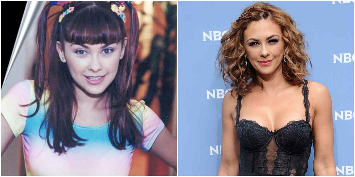 Aracely Arámbula de joven y ahora