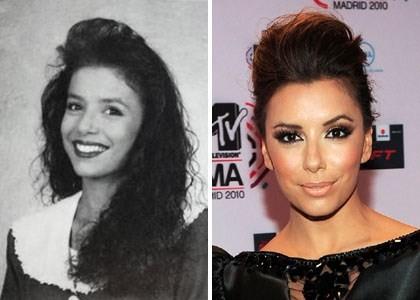 Antes y después de Eva Longoria