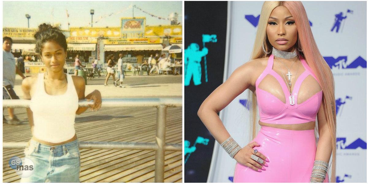 Antes y después de Nicki Minaj